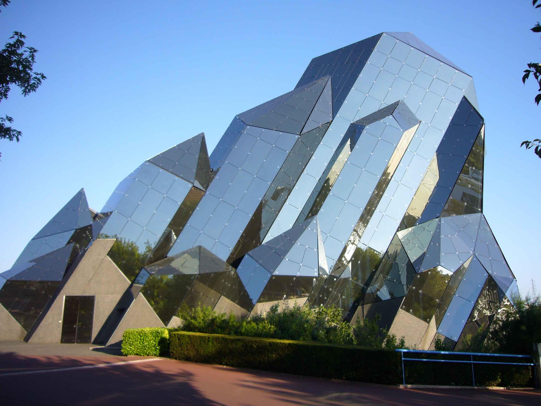 maison futuriste en bois ForArchitecture Futuriste